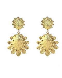 Gold Filagree Rova Earrings