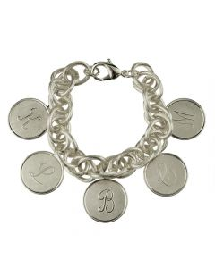 Moon & Lola Preston Family 5 Charm Bracelet - Available in Silver or Gold