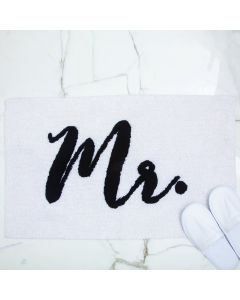 Mr. & Mrs. Bathmat Set