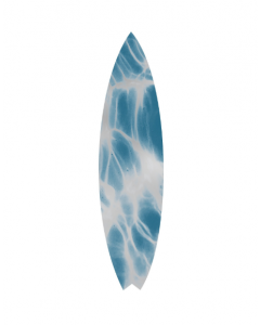 Natural Curiosities Blue Surfboard No.2 Wall Art
