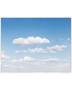 Natural Curiosities Cloud Study Large Colorful Wall Art with Optional Frame
