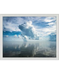 Natural Curiosities Folden Clouds Fine Photography Wall Art with Optional Frame