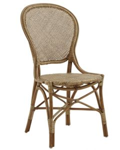 Natural Rattan Side Chair - Available in Many Colors