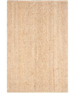 Natural Bright Jute Hand Woven Rug - Variety of Sizes Available
