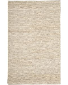 Natural Fiber Hand Woven Jute Rug in Bleach - Variety of Sizes Available