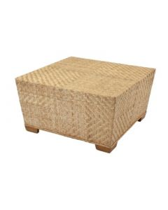 Natural Woven Rattan Coffee Table – Available in a Variety of Colors