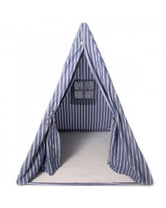 Navy Multi-Stripe Wigwam