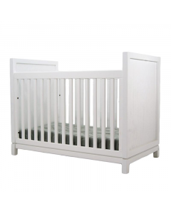 Modern Minimalist Custom Handmade Wood Crib - Available in 2 Finishes