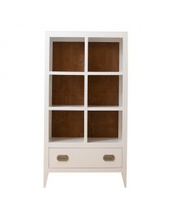 Newport Cottages Devon Bookcase with Drawer - Available in a Variety of Finishes
