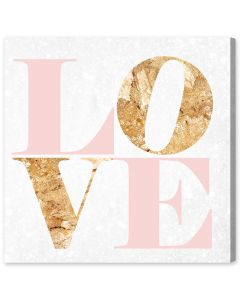 Build on Love Romance Canvas Wall Art - Available in 5 Sizes