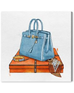 """My Bag Collection III"" Hermes-Inspired Wall Art - Available in 5 Sizes"
