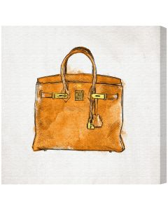 """My Lucky Bag"" Canvas Fashion Wall Art - Available in 5 Sizes"
