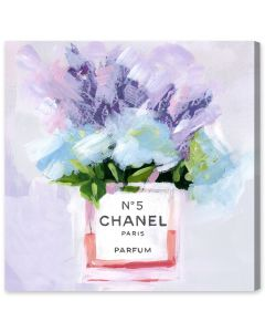 """Paris N5"" Chanel-Inspired Canvas Wall Art - Available in 5 Sizes"