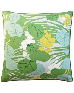 Palm Leaves Tropical Decorative Throw Pillow