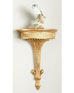 Park Street Wall Bracket in Antique Gold Leaf