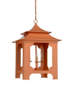 Peach Pagoda Influenced Lantern