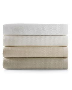 Ainsley Luxury 100% Cotton Modern Quilted Coverlet Bedding - Available in Many Sizes and Colors