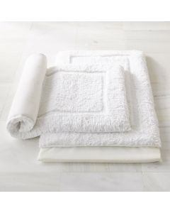 Luxury 100% Cotton Bath Rug with Memory Foam Insert -  Available in Two Sizes