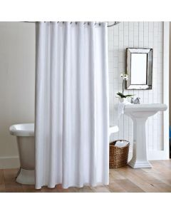 Cornelia Luxury 100% Cotton Matelasse Shower Curtain - Available in Three Colors