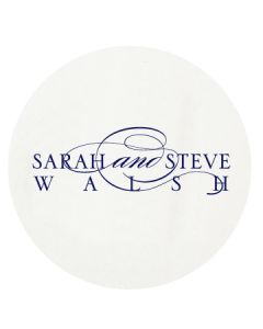 Personalized Letterpressed Coasters