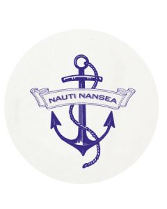 Personalized Nautical Anchor Letterpressed Coasters