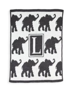 Personalized Walking Elephants Blanket - Variety of Colors Available