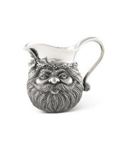 Pewter Santa Creamer Serveware Great for Holiday Entertaining
