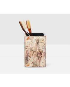 Pigeon & Poodle Adana Tooth Brush Holder in Marbelized Shell