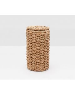 Pigeon & Poodle Destin Woven Seagrass Double Toilet Paper Holder, Set of 2