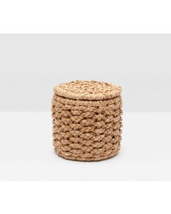 Pigeon & Poodle Destin Woven Seagrass Single Toilet Paper Holder, Set of 2