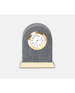 Pigeon & Poodle Siena Denim Round Clock in Two Different Colors, Set of 2