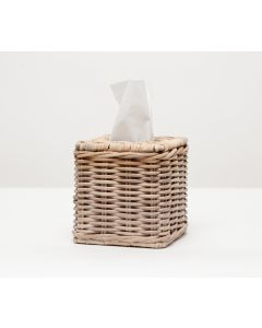 Pigeon & Poodle Malabar Wicker Tissue Box