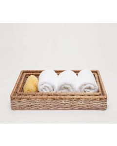Pigeon & Poodle Malabar Wicker Tray Set