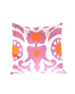 Pink Agra Decorative Square Pillow