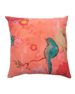 Pink Silk Fine Art Decorative Pillow