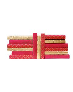Pink and Gold Mix Decorative Book Set
