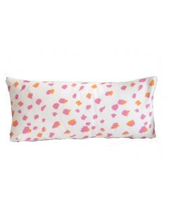 Pink Fleck Lumbar Pillow