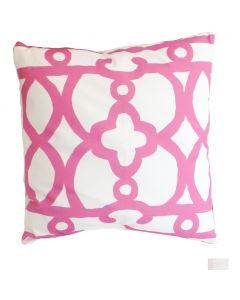 Pink Ming Square Pillow
