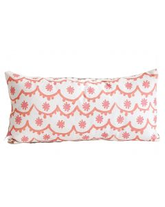 Pink Santos Lumbar Pillow