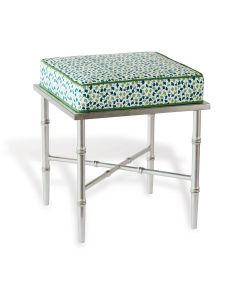 Doheny Silver Single Howard's End Green Bench