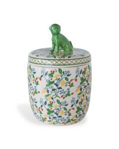 Madcap Cottage Collection Crewel Summer Decorative Jar