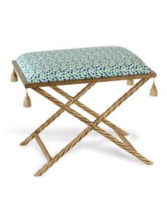 Madcap Cottage Delfern Gold Howards End Green Bench