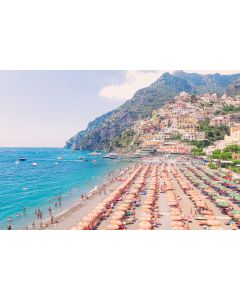 Positano Beach Coast Print by Gray Malin, Large - LOW STOCK