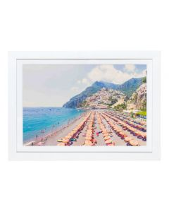 Gray Malin 'Positano Vista' Mini Framed Print