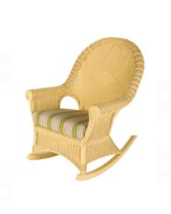 Premier Handwoven Rattan Rocker - Available in a Variety of Finishes