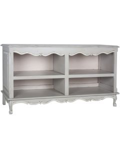 Provence Blue French Double Bookcase