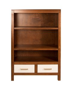 Modern Custom Children's Wood Storage Bookcase - Available in a Variety of Colors