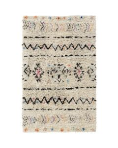 Hand Knotted Tribal Patterned Wool Rug- Available in a Variety of Sizes