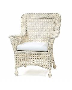 Riviera Wicker Terrace Chair - Available in a Variety Finishes