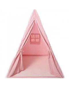 Rose Multi-Stripe Wigwam